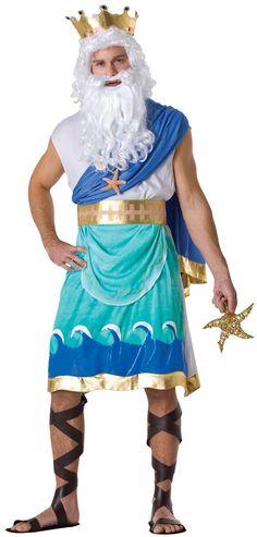 Poseidon or Neptune Adult Costume