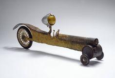 luciole jaune Found Object Art, Art Object, Barn House Decor, Graven Images, Arte Robot, Assemblage Art, Steampunk, Recycled Art, Ceramic Art