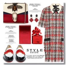 """""""Outfit Of the Day"""" by drigomes ❤ liked on Polyvore featuring Gucci, Christian Louboutin, Marc Jacobs and Marni"""