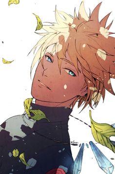 N é a toa que é pai do naruto. Minato é mt lindo, pena q a kushina ja pegou kk Naruto Uzumaki Shippuden, Naruto Shippuden Sasuke, Anime Naruto, Naruto Fan Art, Naruto Und Sasuke, Naruto Cute, Anime Guys, Manga Anime, Kakashi