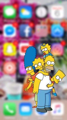 47 Best Simpsons Wallpaper Bart Simpson Homer Images In 2019