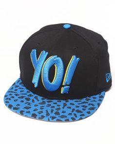Love this Yo! MTV Raps Neon Leopard Print Snapback Hat by... on cfc93964531b