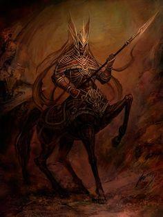 Resultado de imagen para centaur armor anime
