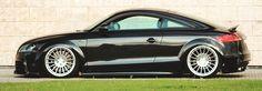 Projeto tuning com suspensão airlift e jantes Rotiform IND e kit TT-RS. Stance Project é o nome dado pelo Dinnitoh ao seu projeto com base no Audi TT.