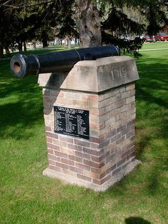 Walworth County WWI Monument (Selby, South Dakota)    Located on the grounds of the Walworth County Courthouse in Selby