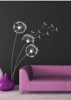 Living Room Wall Decals- A Modern Touch – Dekoration Ideen Chalk Wall, Hallway Decorating, Chalkboard Art, Interior Walls, Wall Colors, Diy Wall, Wall Design, Wall Murals, Wall Decal