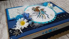Stempelbild in 3D-Optik 22x16x7cm ohne Metalstab 3d, Frame, Home Decor, Paper, Stamps, Birthday, Deco, Gifts, Pictures