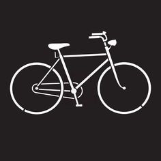 Prima Marketing - 6x6 Stencil - Bicycle...for DIY projects