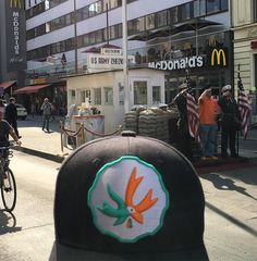 #checkpointcharlie and a Mickey D's. Blaze YOUR own trail & tag us in you pics and we will repost #piecemakergear.com #piecemaker #BlazeYourOwnTrail #byot #moderntrail #Amsterdam #coffeeshops #Marijuana #cannabis #weed #420 #710 #dabs #sweetamsterdam #Amsterdam #Dortmund #Koln #Copenhagen #Billund #Lego #London #lisbon #Ibiza #intertabac #londontattooconvention #supportingyourlifestyle #instaweed #budtender #iamsterdam