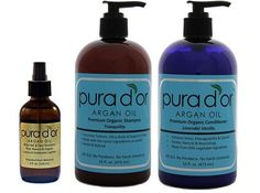Win organic argan oil hair and skin care products by Pura D'or! http://www.theunlikelyhousewife.com/2013/04/stamp-of-approval-the-only-hair-care-product-you-really-need/