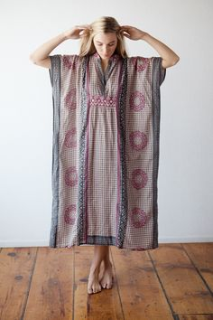 Emerson Fry for Mavenhaus Collective Caftan in Rhodolite *NEW* #mavenhauscollective #slowfashion