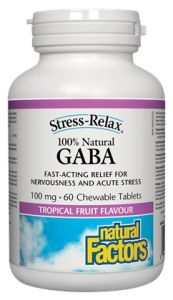 100% Natural GABA - Natural Factors