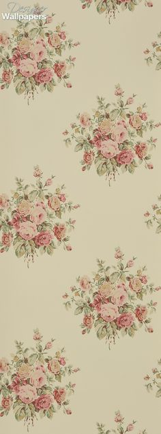 The hugely popular and much-loved fabric pattern, Wainscott Floral, has now become a wallpaper design for the first time. It features a delicate, soft arrangement of flowers and leaves, and perfectly captures the beauty of the blooming English country garden. Wainscott Floral is guaranteed to bring a touch of class and vintage elegance to your walls, and adds style and serenity  to your room.  (Produced on a 52cm wide, 10m roll. The pattern repeat measures 52cm, with a straight match)