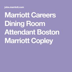 Room Attendant Opening At Revere Hotel Boston Common