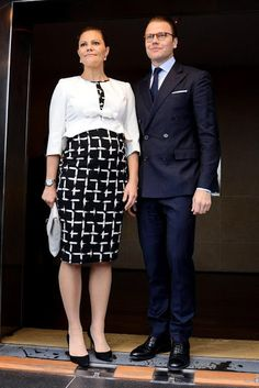 October 23, 2015...Prince Daniel and Crown Princess Victoria Visit Colombia - 3rd Day