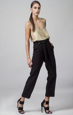 Shop Online Elegant, Feminine & Sophisticated Clothing designed by Fotini Karagianni. Sophisticated Outfits, Online Sales, Trousers, Pants, Dresses For Sale, Feminine, Elegant, My Style, Womens Fashion