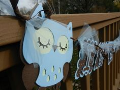 Its A Boy Baby Shower | Baby Shower It's A Boy Banner Owl by table4six on Etsy