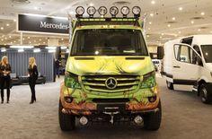 Mercedes-Benz Showcar Sprinter Extreme Concept