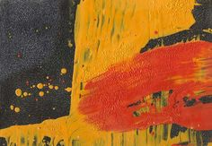 Flowing Downhill W03 Oil on paper, 20 x 30 cm 2014