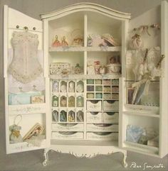 .Bespaq armoire filled by Pilar San Prietro (hard to read handwriting on watermark)