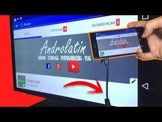 Conecta tú celular a tú tv vieja para el Apagón Analogíco - YouTube