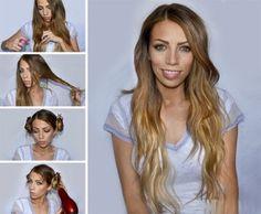 Cute Easy Hair Tutorials and DIY Hairstyles  Hairstyle Ideas: DIY Braid Tips For Your Hair This Spring  Braid hairstyles step by step Box Braids Hairstyles Updos Tutorials Step By Step Hairstyles