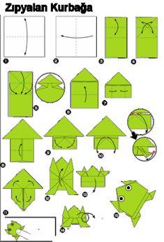 Origami kağıt katlama sanatına verilen addır.(Ori : katlamak , Gami: kağıt *Japonca'da)Kağıtları genelde kesmeden sadece katlayarak çeşitli şekiller oluştu