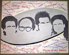 Seinfeld painting & wall art available by Imagination Station, Festivus, Seinfeld, The Dreamers, Canvas Prints, Paintings, Wall Art, Artist, Inspiration