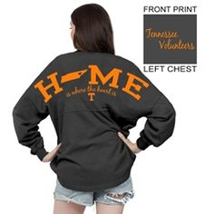 Tennessee Home Is Where the Heart Is Spirit Jersey (Granite)