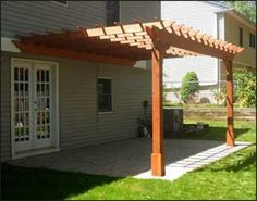 Create the perfect outdoor living space with a patio pergola or backyard pergola. Our pergola kits and DIY pergolas are easy to assemble. Small Garden Pergola, Pergola Attached To House, Pergola Swing, Metal Pergola, Outdoor Pergola, Cheap Pergola, Backyard Pergola, Pergola Shade, Pergola Kits
