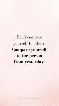 Best motivational & inspirational gym / fitness quotes - don't compare yourself to Best Motivational Quotes, Positive Quotes, Inspirational Quotes, Motivating Quotes, Unique Quotes, Positive Affirmations, The Words, Gewichtsverlust Motivation, Motivation Inspiration