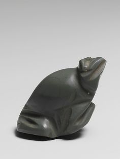 Jasper amulet in the form of a frog  Period:     Late Dynastic–Hellenistic Date:     664–30 B.C. Culture:     Egyptian.  The Metropolitan Museum of Art.