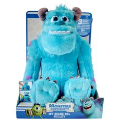 monsters university my scare pal sulley | Monsters University My Scare Pal Sulley - Smyths Toys
