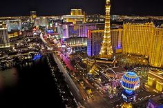 Our view from the Cosmopolitan of Las Vegas! Absolutely gorgeous!