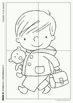 Crafts,Actvities and Worksheets for Preschool,Toddler and Kindergarten.Lots of worksheets and coloring pages. Learning Styles, Kids Learning, Preschool Worksheets, Preschool Activities, Sudoku, Puzzle Crafts, School Themes, Early Childhood Education, Kindergarten Math