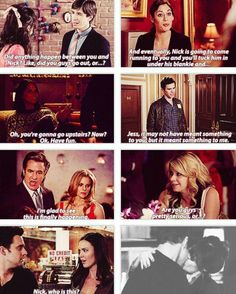 Great compilation!  - Nick and Jess, New Girl