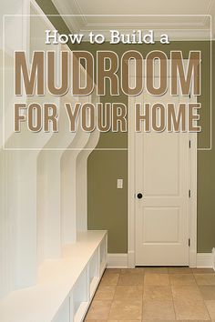 Learn how to create a DIY mudroom or entryway area that works for your family's needs. #mudroom #homeremodel #renovation #homeorganizing Home Renovation, Home Remodeling, Entryway Organization, Shag Carpet, Staying Organized, Your Family, Floor Mats, Mudroom, Storage Solutions