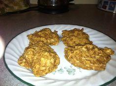 Peanut Butter Oat Breakfast Cookies (E)