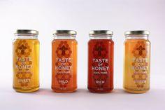 Taste of Honey by Danielle Mitchell, via Behance
