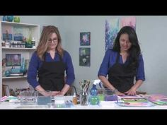 Beyond Watercolor: Fun with Watermedia with Gina Lee Kim PREVIEW