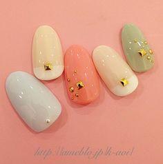 #nail art #nails #simple&pretty
