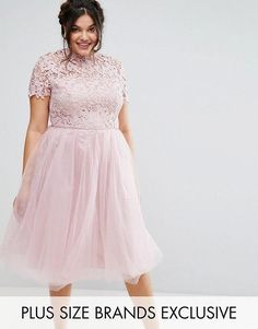 Shop for plus size dresses with ASOS. Shop the Curve range for beautiful plus size maxi, party & formal dresses in a range of colours in your favourite styles. Pink Plus Size Dresses, Plus Size Wedding Dresses With Sleeves, Dresses For Apple Shape, Plus Size Cocktail Dresses, Plus Size Outfits, Pink Dresses, Purple Dress, Plus Zise, Robes Midi