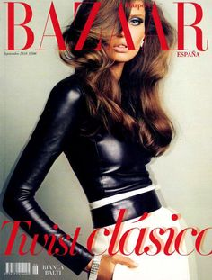 Bianca Balti on Harper's Bazaar