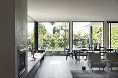 Gallery Of Brighton Residence By Studio Tate Local Australian Architecture & Design Brighton, Melbourne Image 3 Australian Architecture, Interior Architecture, Interior Design, Australian Homes, Residential Architecture, Mid Century Bedroom, Storey Homes, Formal Living Rooms, Living Spaces