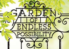 Garden of endless possibility