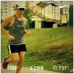 Hurry! Barry is running  #barryisrunning  #run #runsg #nikeplus #nikerun #nikeplusrun  #runhappy #runnerscommunity #runnerinspiration #runforabettertomorrow  #correr #Corrida #instarunner #iphonerunner #iphoneonly #marathontraining #wearetherunners #worlderunners  #loverunning  #plantarfasciitis  #RunItFast #justrunlah