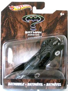2012 HOT WHEELS - BATMAN FOREVER X4036 - BATMOBILE