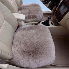 Car Seat bottom Cushions - Pin it :-) Follow us  CLICK IMAGE TWICE for Pricing and Info ...SEE A LARGER SELECTION of car seat bottom cushions at  http://zcarseatcushions.com/product-category/car-seat-bottom-cushions/ -  car, upholstery,  car seat, cushion -  Sheepskin Car Cushion Brown Color Car Front Driver Seat Covers Sheepskin Car Seat Cushion 2pcs « Z Car Seat Cushions