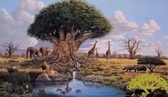 Tree of Life, Disney's Animal Kingdom, Walt Disney World - Dan Goozeé