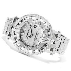XO Skeleton Mens Superlative Star Limited Edition Automatic Stainless Steel Bracelet Watch